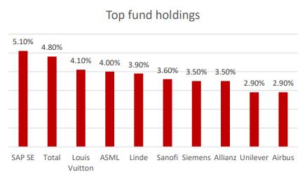 Sygnia Eurostoxx 50 Top Holdings