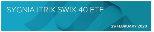 Sygnia Swix Factsheet 2020
