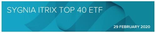 Sygnia Top 40 Factsheet 2020